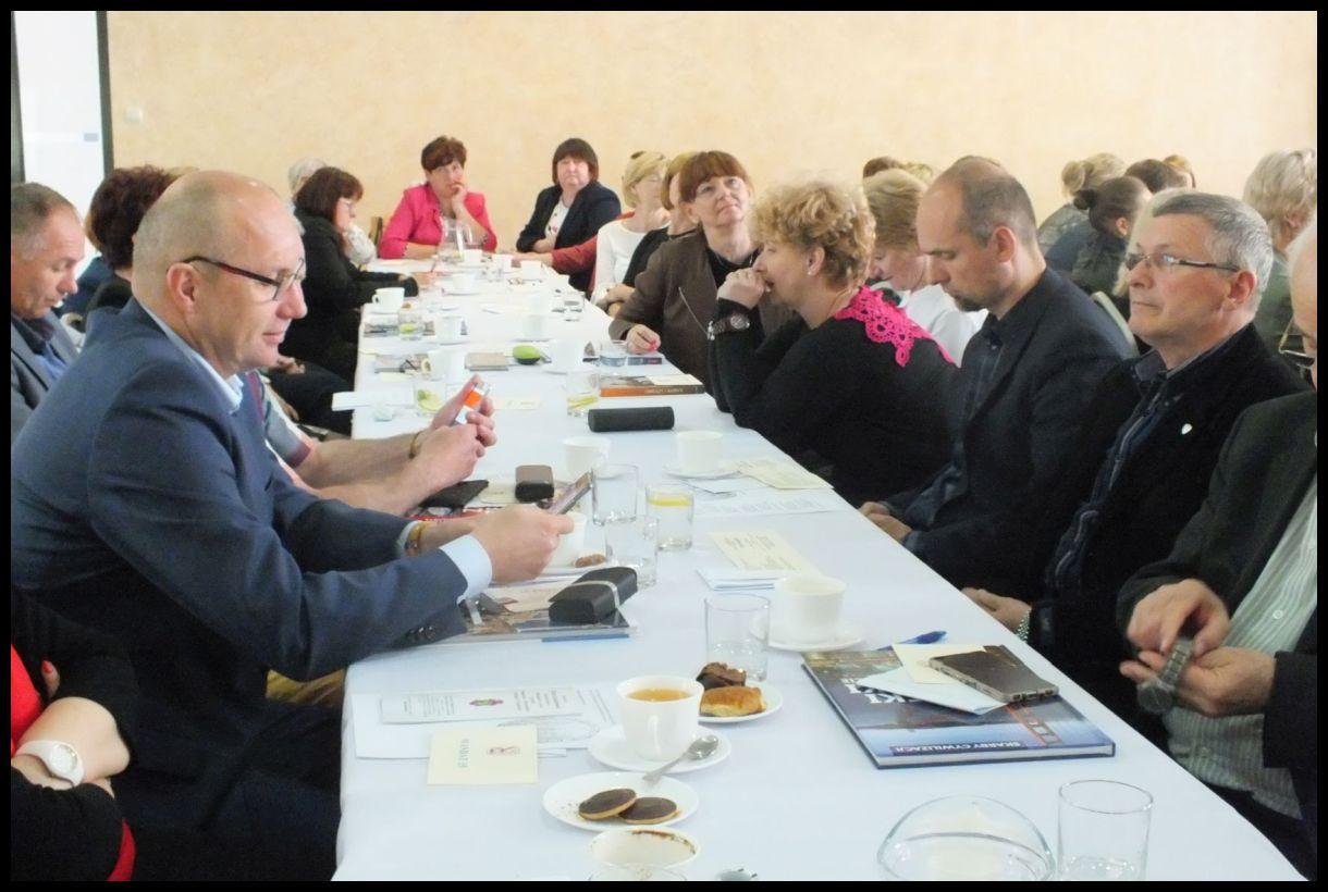 Oglądasz obraz z artykułu:  Józef Sadowski ponownie Prezesem Oddziału ZNP w Tarnowie.